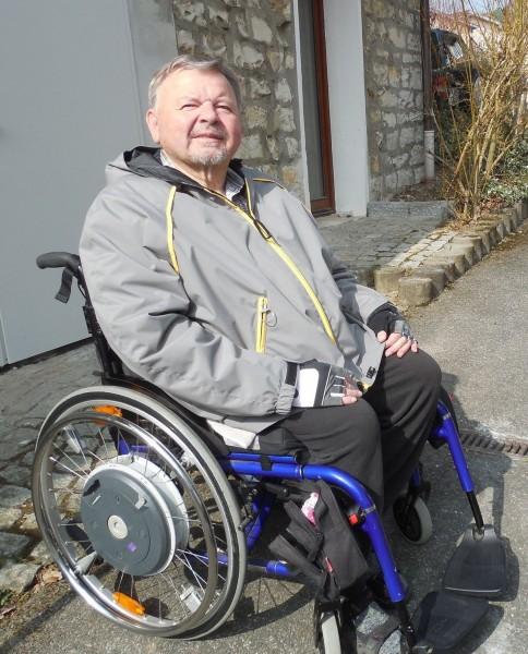 Rollstuhljacke extra groß