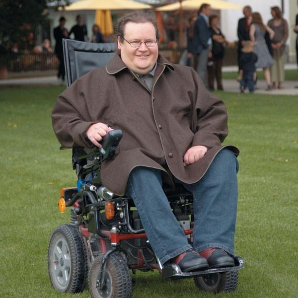Poncho für Rollstuhlfahrer Herren