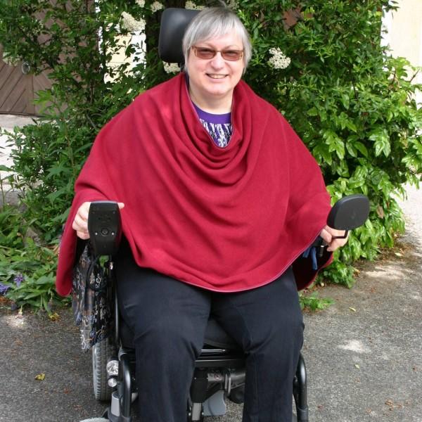 Rollstuhl Schultertuch Sweat | Stola
