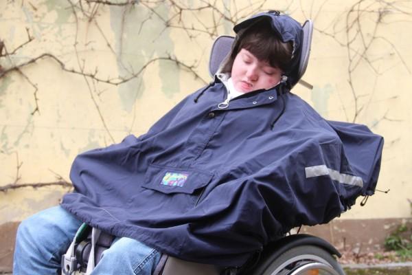 Jacke für Rollstuhlfahrer Winter für Schale