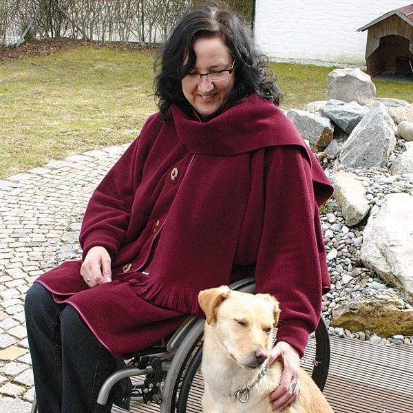 Damen Poncho für Rollstuhlfahrer