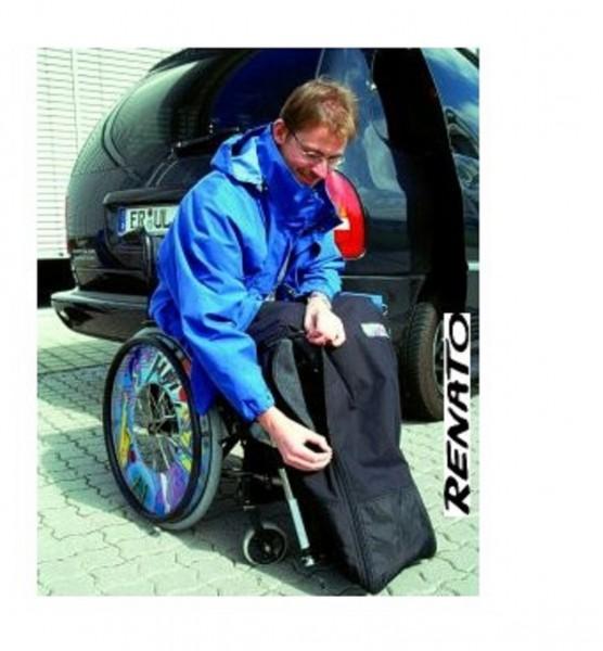 Rollstuhl Fusssack Kinder halbhoch