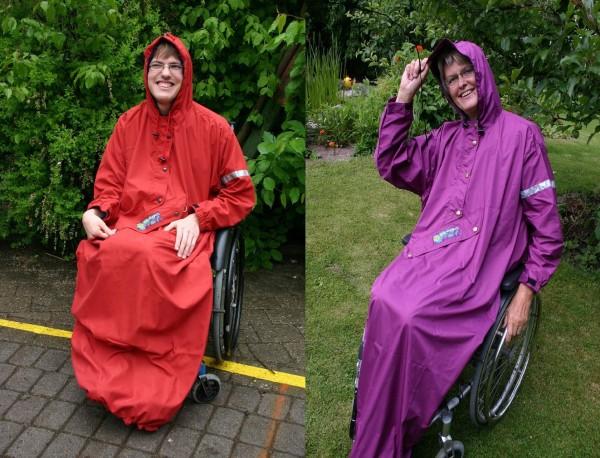 Regencape für Rollstuhl