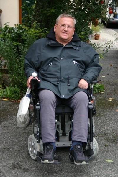 Jacke für Rollstuhlfahrer
