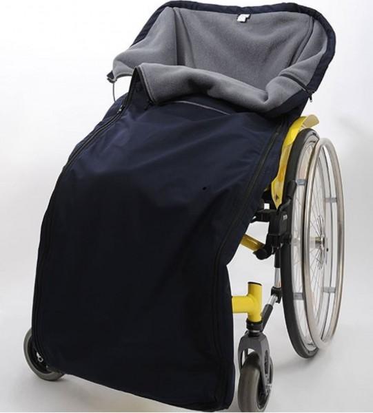 Fußsack für Rollstuhlfahrer Winter