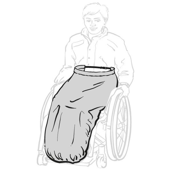 Beinschutz für Rollstuhlfahrer