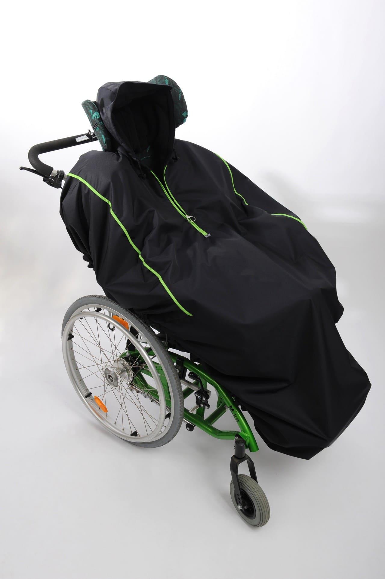 6000569a0084a8 Wintercape für kleine Schale ohne Ärmel | Rollstuhl-Cape | Renato  Rollstuhlbekleidung