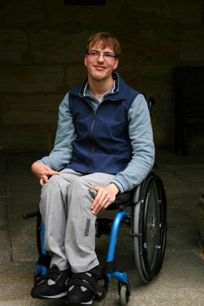 Hose für Rollstuhlfahrer